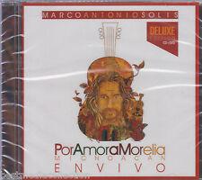 CD / DVD Marco Antonio Solis CD Por Amor A Morelia DELUXE En Vivo BRAND NEW