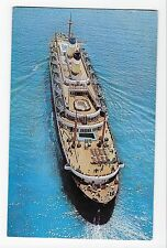Vintage Postcard S. S. Constitution and Independence American Export Lines Ships
