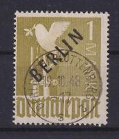 Berlin 17 Schwarzaufdruck 1 Mark gestempelt geprüft Schlegel (et112)
