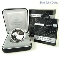 2006 STATE GOVERNMENT 150 YEARS NEW SOUTH WALES Silver Proof Coin