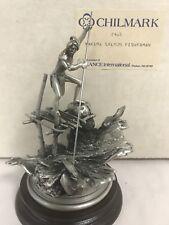"""Chilmark """" Yakima Salmone Pescatore"""" le 605/2500 Polland-Fine Peltro in Scatola"""