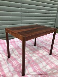 Danish Rosewood Side Table Mid Century