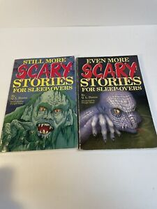 Scary Stories for Sleep-Overs by Q. L. Pearce 1993/94