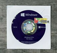~~Microsoft Windows 10 PRO Professional 64bit DVD + COA Product Key + Hardware~~