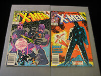 The Uncanny X-Men #202 And #203 (1985 Marvel) Newsstand MID GRADE