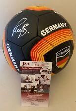 42a5c35ca95 Bastian Schweinsteiger Bayern Munich signed Germany Soccer Ball Chicago Fire  JSA