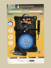 Singing Machine Fiesta Voice with LCD Monitor, Rechargeable Battery & Bluetooth