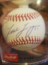 todd frazier signed baseball autographed romlb ball auto new york yankees mets