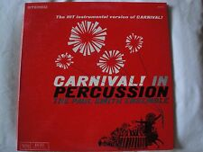 CARNIVAL! IN PERCUSSION THE PAUL SMITH ENSEMBLE VINYL LP 1961 VERVE RECORDS EX