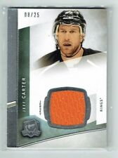 12-13 UD Upper Deck The Cup  Jeff Carter  /25  Jersey  KINGS