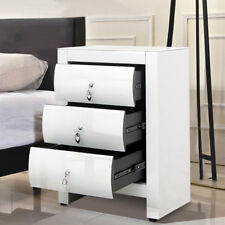 Unbranded Bedside Tables & Cabinets with 3 Drawers for sale | eBay