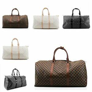 New Stylish Duffel Style Patterned Hand Bag/Travel Bag/Holiday Bag/Gym Bag UK