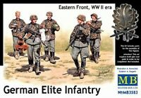 MODEL FIGURES Masterbox 3583 1/35 WWII German Elite Infantry Eastern Front