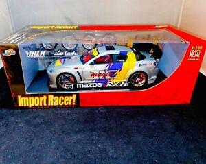 NHRA Jada Toys 1:18 Metal Diecast IMPORT RACER No Reserve NITRO DENNIS Mazda RX8
