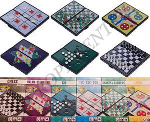 Modern Mini Magnetic Pocket Travel Size Board Games Family Kids Fun Xmas Gift