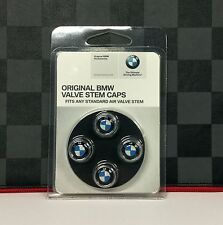 Genuine BMW Tire Stem Valve  Cap Set 36110421544