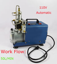 110V Auto Stop High Pressure Paintball Electric Air Compressor PCP 30MPa 4500psi