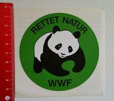 Aufkleber/Sticker: WWF Rettet Natur - Panda Bär (25061651)