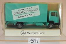 Wiking 1/87 Mercedes Koffer LKW Gebrauchtwagen Garantie Werbemodell OVP #1647