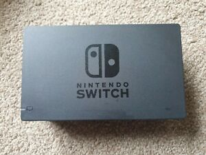 🕳 OFFICIAL NINTENDO SWITCH TV DOCK SET WITH AC ADAPTER & HDMI EXCELLENT reft1🕳