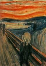 L'URLO di Edvard Munch - 70x100 cm Falso d'autore - Poster Artistico The Scream