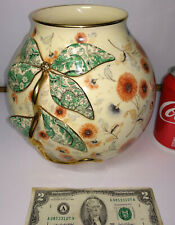 Old KONINKLIJKE GOUDA PLATEELBAKKERIJ Vase flowers ZUID-HOLLAND