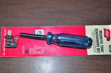 """Magnetic Torx Screwdriver Set1/4"""" hex insert Torxbits:T-15,T-20,T-25,T-30 Lisle."""