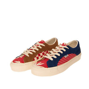 VANS OG LAMPIN LX Leather & Canvas Sneakers EU 45 UK 10.5 US 11.5 Patterned Logo