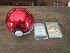 Pokemon 23k Gold-Plated Trading Card - 1999 Poliwhirl Burger King Pokeball