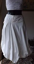 Women wear Sarah Pacini  summer white skirt SP 1720 BNWT