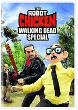 The Robot Chicken: Walking Dead Special - Animated Movie, DVD, 2018, New, 1-Disc