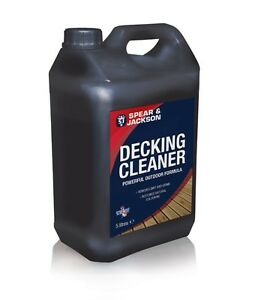 Decking Cleaner 5L Spear and Jackson Ready to Use
