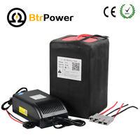 BtrPower 72V 30Ah Lithium Li-ion Battery Pack for E-Bike 3500W Motor Scooter