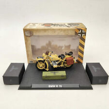 BMW R75 Motorcycle World War II 1939-1945 Yellow 1/24 Diecast Model Collection
