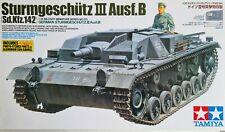 Tamiya 1/35 German Sturmgeschutz III Ausf.B Sd.kfz.142 Model Kit