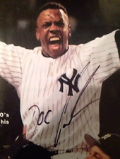 Dwight Gooden Autographed Yankees Magazine