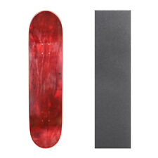 """Cal 7 Blank Maple Skateboard Deck 7.75"""" 8"""" 8.25"""" with Grip Tape Multi-Colors Set"""