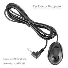 Externes Mikrofon für Bluetooth Autoradio PC Mikro 3,5mm Anschluss 2M Handsfree.