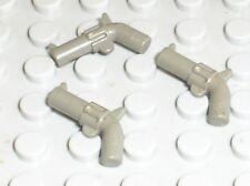 Revolver LEGO WESTERN minifig OldDkGray Gun Revolver 30132 / 6762 6769 6765 6764