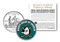 ANAHEIM DUCKS NHL Hockey California Statehood Quarter Coin - OFFICIALLY LICENSED