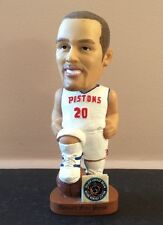 Jon Barry Detroit Pistons Bobblehead, ESPN Analyst Kings Rockets Bucks NBA