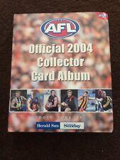 2004 Herald Sun AFL Trading Cards Full Set (180) + Official Album