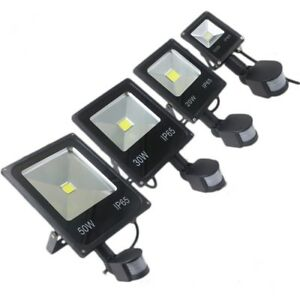 PIR Motion Sensor Standard LED Floodlight 20W 30W 50W Security Flood Light