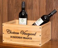 Range bouteilles et casiers en bois pour la cuisine