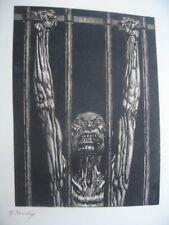 Le Jardin des Supplices de Mirbeau illustré par FREIDA avec la Planche refusée