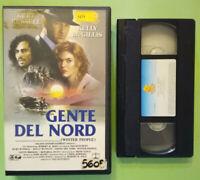 VHS Film Ita Drammatico GENTE DEL NORD kurt russell ex nolo no dvd cd lp (V163)