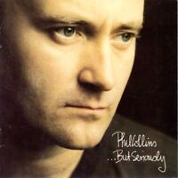 PHIL COLLINS but seriously (CD, album, 1989) soft rock, synth pop, pop rock