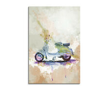 90x60cm Paul Sinus Splash Art Gemälde Kunstbild VESPA