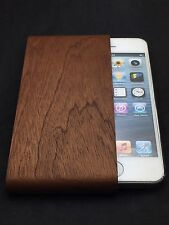 IPHONE 5/5S WALNUT POUCH BY IWOODEN GENUINE  REAL WOOD ULTIMATE PROTECTION