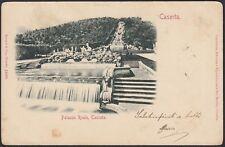 AX2072 Caserta - Palazzo Reale - Cascata - Cartolina postale - Postcard